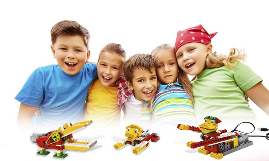 Campamentos robóticos de Semana Santa con LEGO® WeDo y Scratch