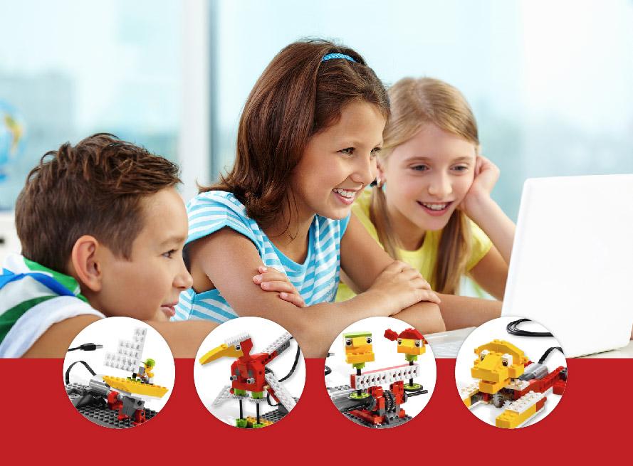 Campamento de robótica con LEGO® WeDo y Scratch en Valencia (Tres Forques)
