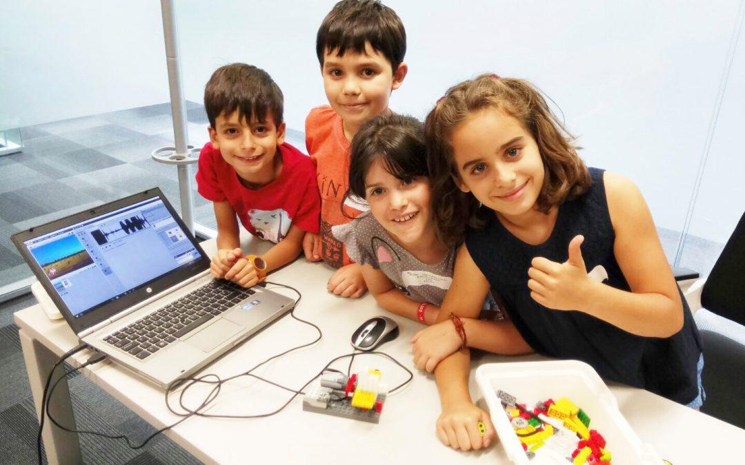 Actividades extraescolares de robótica en Madrid (17-18 // Ludotecas Maravillas)