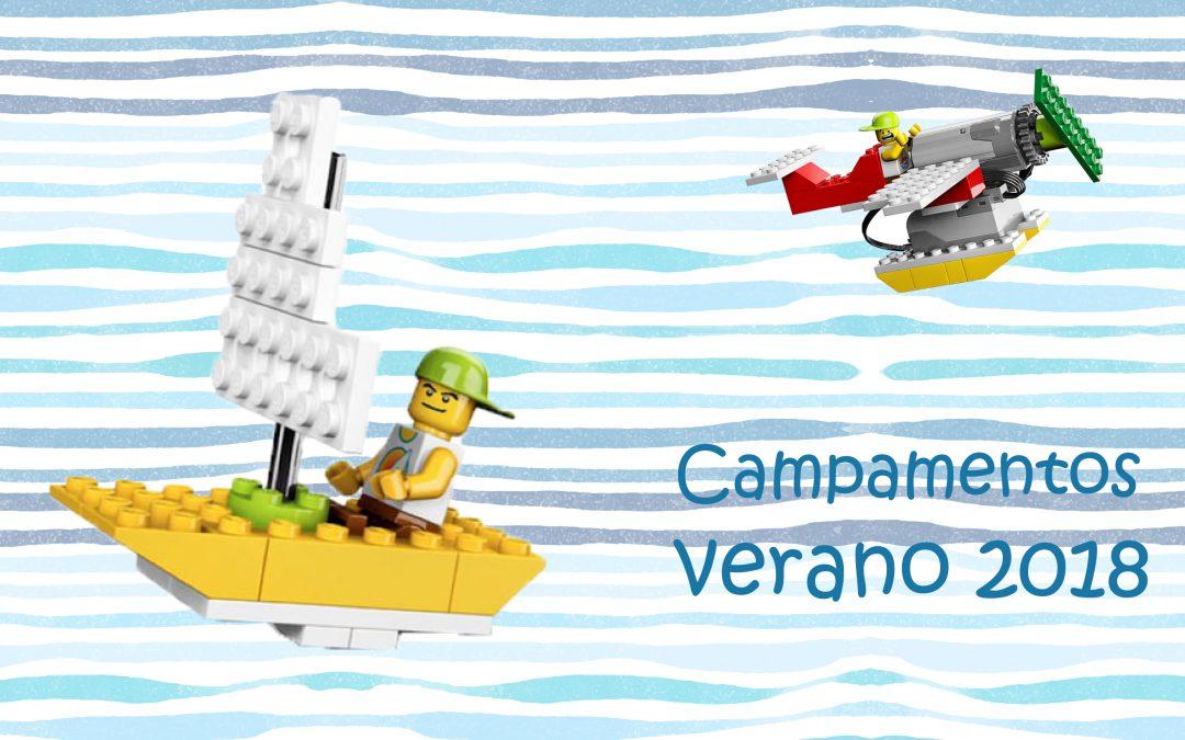 Campamentos robóticos en Madrid y Valencia