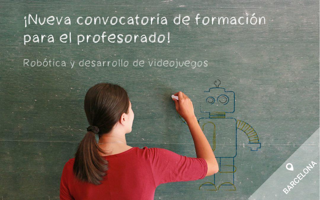 Nueva convocatoria del curso intensivo para formación al profesorado en Barcelona