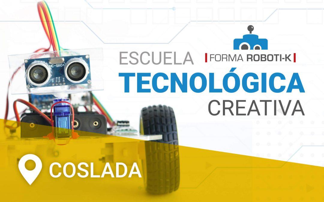 ¡Escuela tecnológica creativa en Coslada!