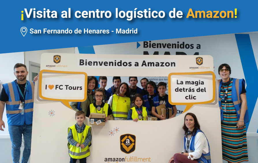 Un día en el centro logístico de Amazon