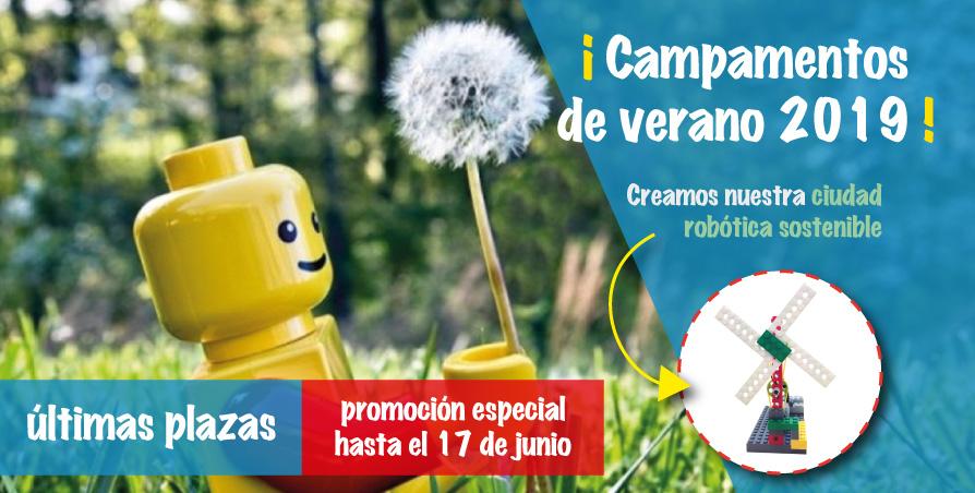 Campamentos de verano 2019 – promocion