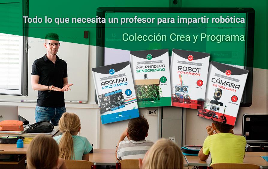 Soluciones para el profesor | Todo lo que necesitas para impartir robótica