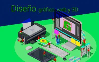Diseño gráfico, web, 3D | Desarrollando la creatividad desde 0