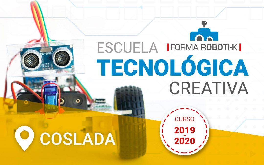 Robótica y tecnología en Coslada | Inscripciones abiertas