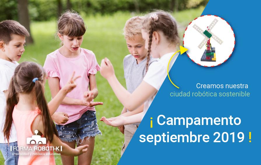 Campamento robótico Coslada |  2-6 septiembre