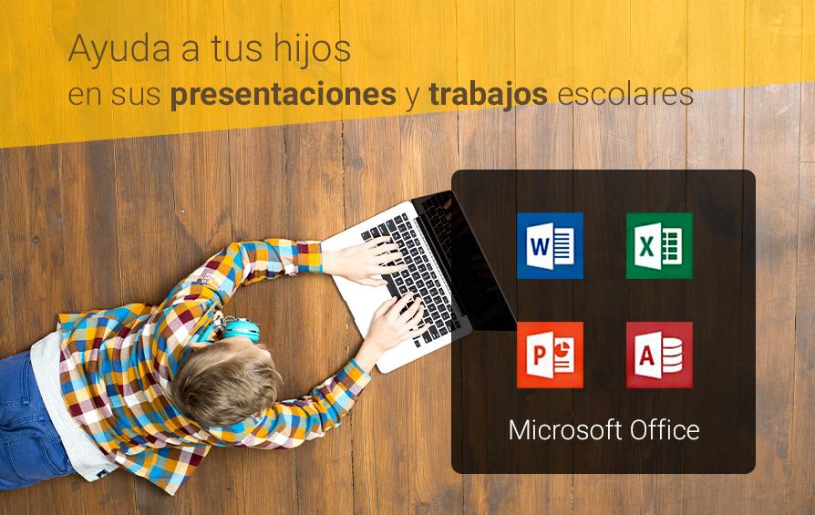 Microsoft Office | Ayuda a tus hijos en sus presentaciones y trabajos escolares