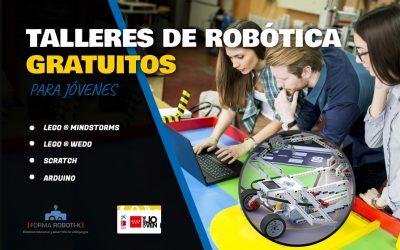 TALLERES GRATIS de robótica y desarrollo de videojuegos