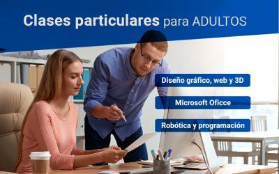 Clases particulares adultos |  Office, robótica y diseño