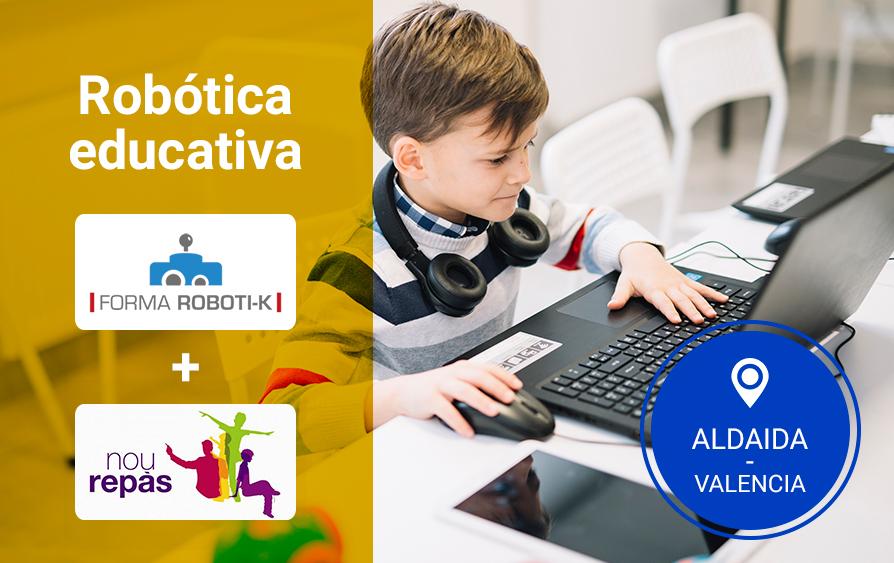 Cursos de robótica para niños en Aldaia- Valencia