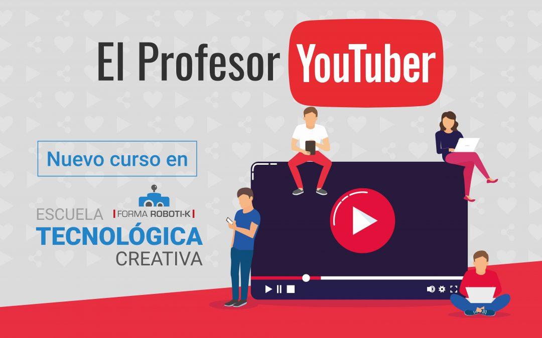 Nueva actividad extraescolar | El Profesor Youtuber