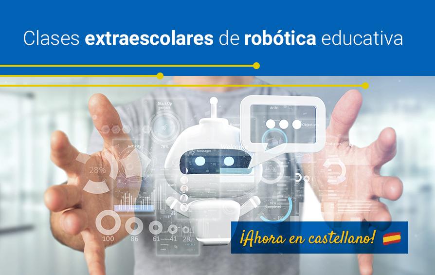 Extraescolares de robótica ¡Ahora en castellano!