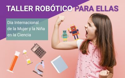 El taller robótico para ellas