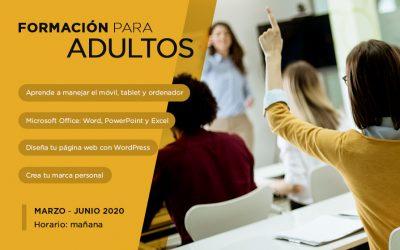 CURSOS ADULTOS | Office, WordPress, uso dispositivos y branding