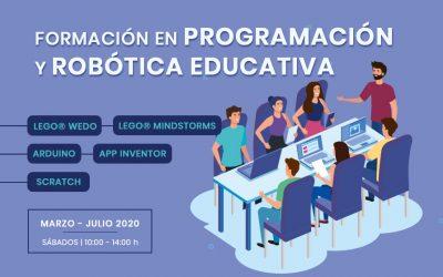 Cursos de programación y robótica educativa | Formación 2020