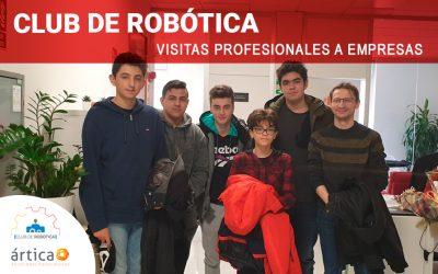 Club de Robótica | Visitas profesionales a empresas
