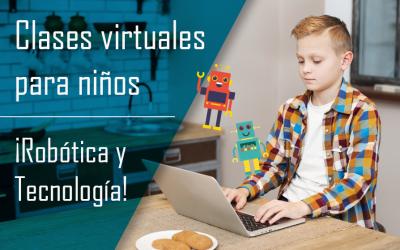 Clases de robótica en modalidad virtual para niños