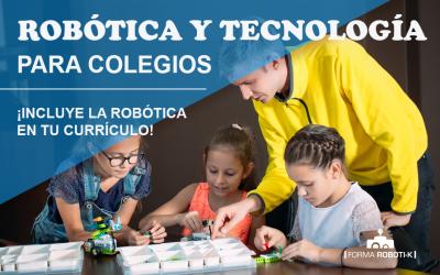 Incluye la robótica y otras materias en tu colegio