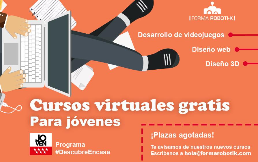 Cursos virtuales gratis para jóvenes