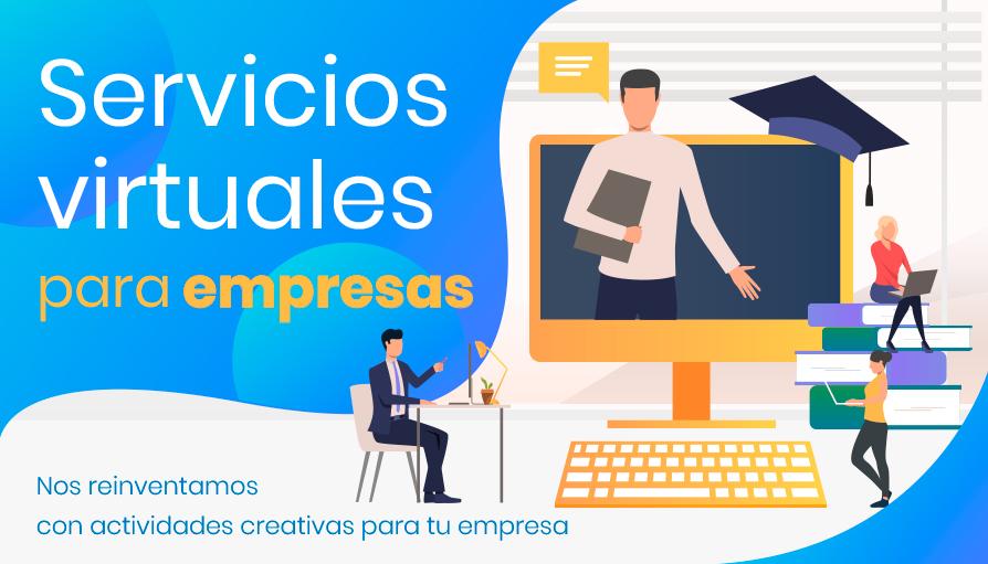 Actividades creativas para empresas en modalidad virtual
