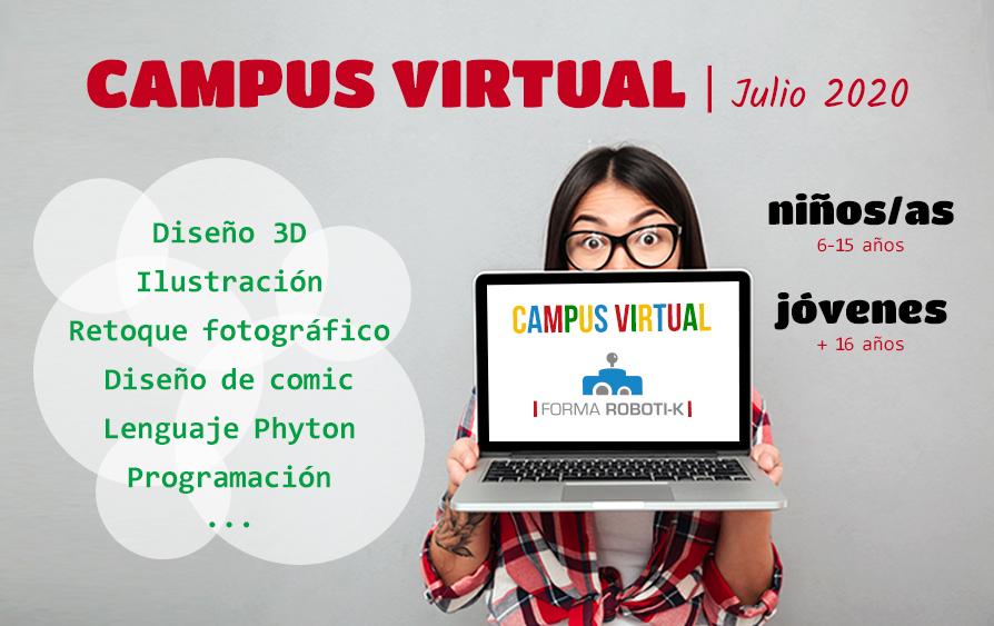 CAMPUS VIRTUAL Julio 2020 | Creatividad y tecnología
