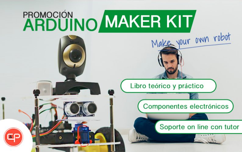 Arduino Maker Kit – Construye tu robot desde casa