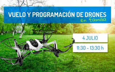 Taller para familias | Vuelo y programación de drones