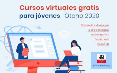 Cursos gratis para jóvenes | Otoño 2020
