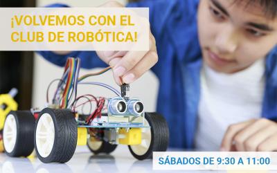 Empieza el club de robótica | Inscripciones abiertas