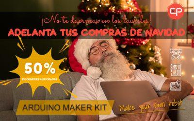 Adelanta tus compras de Navidad – 50% en ARDUINO MAKER KIT