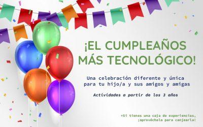 Celebra un cumpleaños tecnológico
