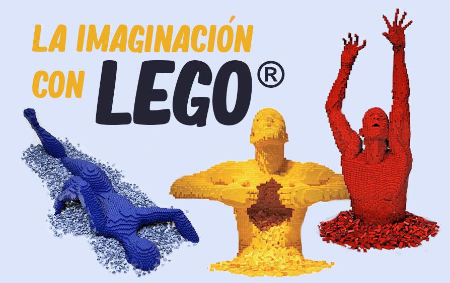 No hay límites para la imaginación   Obras de arte con Lego®