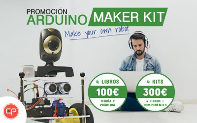 ¡Promoción Arduino Maker Kit! Libros + componentes